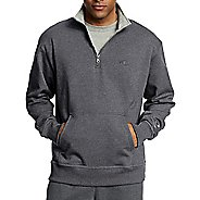 Mens Champion Powerblend Fleece 1/4 Zip Half-Zips & Hoodies Technical Tops