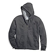 Mens Champion Powerblend Fleece Full Zip Half-Zips & Hoodies Technical Tops