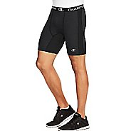 Mens Champion PowerFlex Solid Compression & Fitted Shorts - Black L