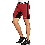 Mens Champion PowerFlex Solid Compression & Fitted Shorts - Scarlet/Black XL