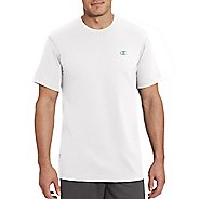 Mens Champion Vapor Cotton Basic Tee Short Sleeve Technical Tops