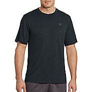 Mens Champion Vapor Heather Tee Short Sleeve Technical Tops