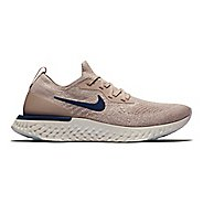 Mens Nike Epic React Flyknit Running Shoe - Taupe 9