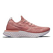 Womens Nike Epic React Flyknit Running Shoe - Rust Pink 10