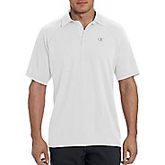 Champion Mens Catalyst Polo Short Sleeve Technical Tops - White S