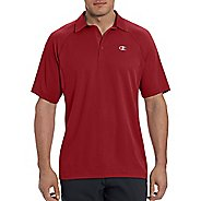 Champion Mens Catalyst Polo Short Sleeve Technical Tops - Carmine Red XL