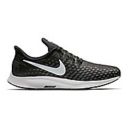 Mens Nike Air Zoom Pegasus 35 Running Shoe - Black/White 9.5