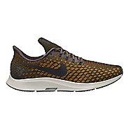 Mens Nike Air Zoom Pegasus 35 Running Shoe - Grey/Yellow 13