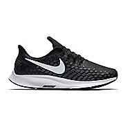 Womens Nike Air Zoom Pegasus 35 Running Shoe - Black/White 6.5