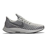 Womens Nike Air Zoom Pegasus 35 Running Shoe - White/Yellow 10