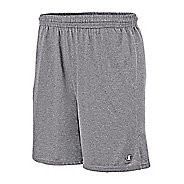 Mens Champion Classic Jersey Unlined Shorts - Oxford Grey L