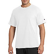 Mens Champion Classic Jersey Tee Short Sleeve Technical Tops - White 3XL