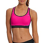 Womens Champion Absolute Max Sports Bras - Pop Art Pink L