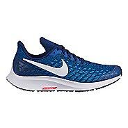 Kids Nike Air Zoom Pegasus 35 Running Shoe - Blue/White 4Y