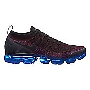 Mens Nike Air VaporMax Flyknit 2 Casual Shoe - Black/Red 11.5