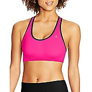 Womens Champion Absolute Racerback with SmoothTec Band Sports Bras - Pop Art Pink XS