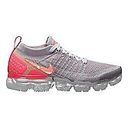 Womens Nike Air VaporMax Flyknit 2 Casual Shoe - Atmosphere/Crimson 8.5