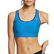 Womens Champion Absolute Shape with SmoothTec Band Sports Bras - Winter River Teal L