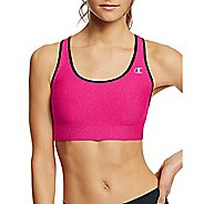 Womens Champion Absolute Shape with SmoothTec Band Sports Bras - Pop Art Pink/Black XL