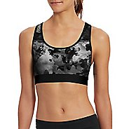 Womens Champion Absolute Workout -Print Sports Bras - Sky Camo Black L