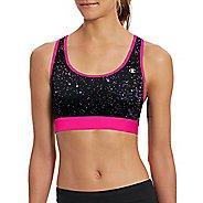 Womens Champion Absolute Workout -Print Sports Bras - Pop Art Pink/Lilac S