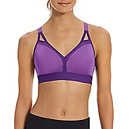 Womens Champion Curvy Strappy Sports Bras - Purple Reef/Grape L