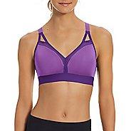 Womens Champion Curvy Strappy Sports Bras - Purple Reef/Grape M