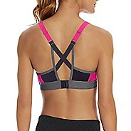 Womens Champion Curvy Strappy Sports Bras - Pop Art Pink/Granite XL