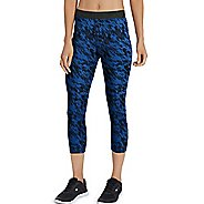 Womens Champion Everyday Capris Pants - Winter River Teal L