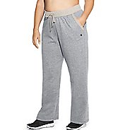 Womens Champion Plus Fleece Open Bottom Pants