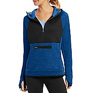 Womens Champion Premium Tech Fleece 1/2 Zip Half-Zips & Hoodies Technical Tops - Winter River ...