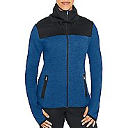 Womens Champion Premium Tech Fleece Full Zip Cold Weather Jackets - Winter River Teal HT S