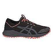 Womens ASICS Alpine XT Trail Running Shoe - Black/Carbon/Pink 11