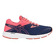 Womens ASICS Amplica Running Shoe - Blue/Coral 7.5