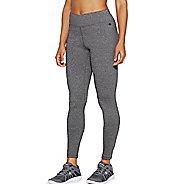 Womens Champion Tech Fleece Tights & Leggings Pants - Granite Heather S