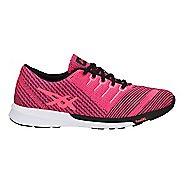 Womens ASICS fuzeX Knit Running Shoe - Pink/Coral/Black 5