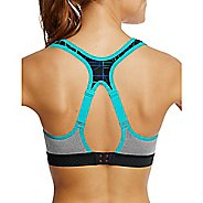 Womens Champion The Warrior -Print Sports Bras - Upbeat Teal/Black L