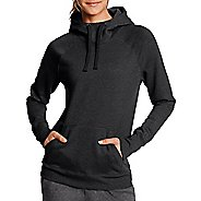 Womens Champion Fleece Pullover Half-Zips & Hoodies Technical Tops - Black M