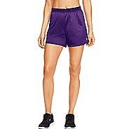 Womens Champion Mesh Lined Shorts - Grape Splash M