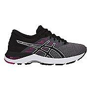 Womens ASICS GEL-Flux 5 Running Shoe - Carbon/Black/Red 6