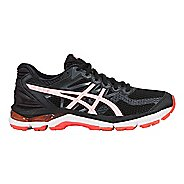 Womens ASICS GEL-Glyde Running Shoe - Black/White/Coral 8.5