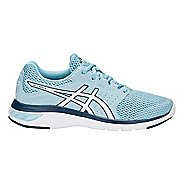 Womens ASICS GEL-Moya Running Shoe - Blue/White 12