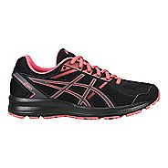 Womens ASICS Jolt Running Shoe - Black/Carbon/Peach 9.5