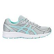 Womens ASICS Jolt Running Shoe - Grey/Aqua/White 9.5