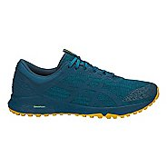 Mens ASICS Alpine XT Trail Running Shoe - Tile/Blue/Lemon 9.5
