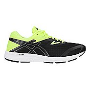 Mens ASICS Amplica Running Shoe - Black/Yellow 12