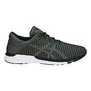 Mens ASICS fuzeX Rush Adapt Running Shoe - Forest/Abyss/Black 8.5
