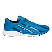 Mens ASICS FuzeX Rush Adapt Running Shoe - Race Blue/White 12