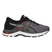 Mens ASICS GEL-Flux 5 Running Shoe - Carbon/Black/Tomato 13