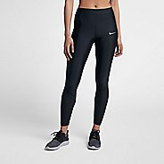 Womens Nike Power Speed Cool 7/8 Tights & Leggings Pants - Black L